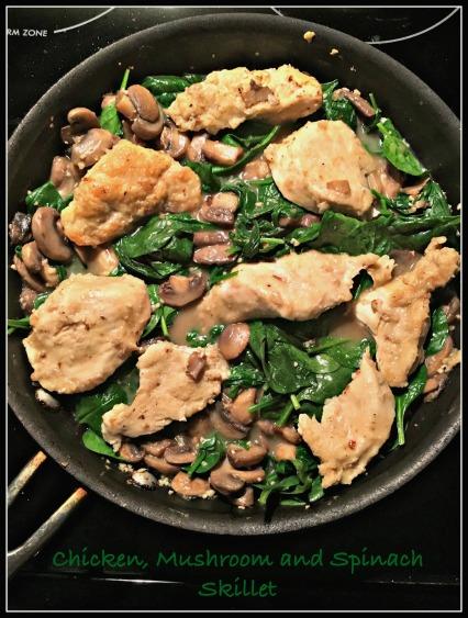 Chicken Mushroom Spinach 2