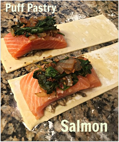 Puff Pastry Salmon