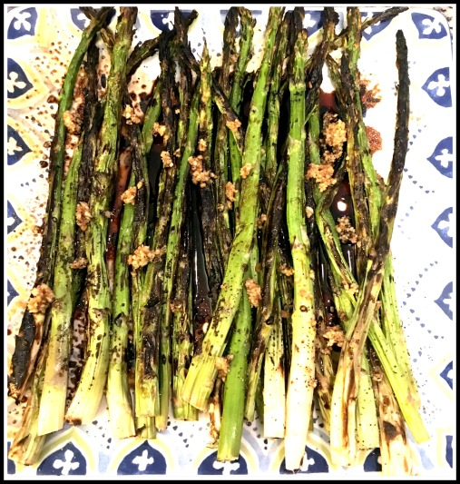 Balsamic Garlic Asparagus