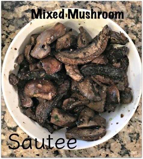 Mixed Mushroom Sautee