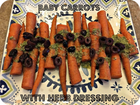Baby Carrots with Herb Dressing