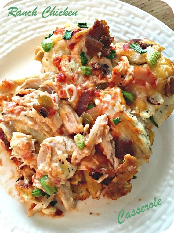 Ranch Chicken Casserole 2