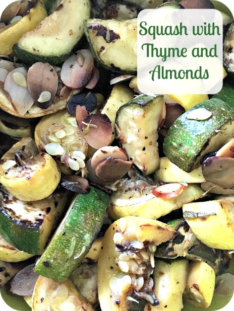 Squash with Thyme and Almonds
