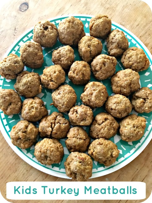Kids Turkey Meatballs