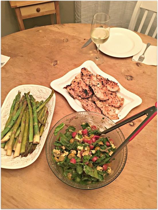 color-block-dinner