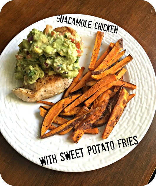 guac-chicken-with-sweet-potato-fries