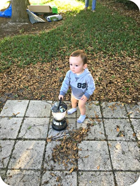 Backyard Camping Cooper Lantern