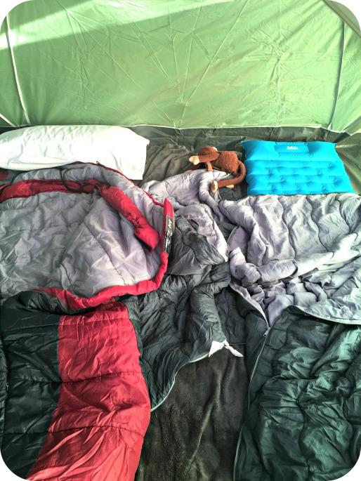 Backyard Camping Sleeping Bags