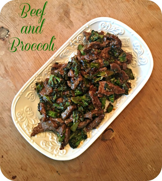 Beef and Broccoli Complete