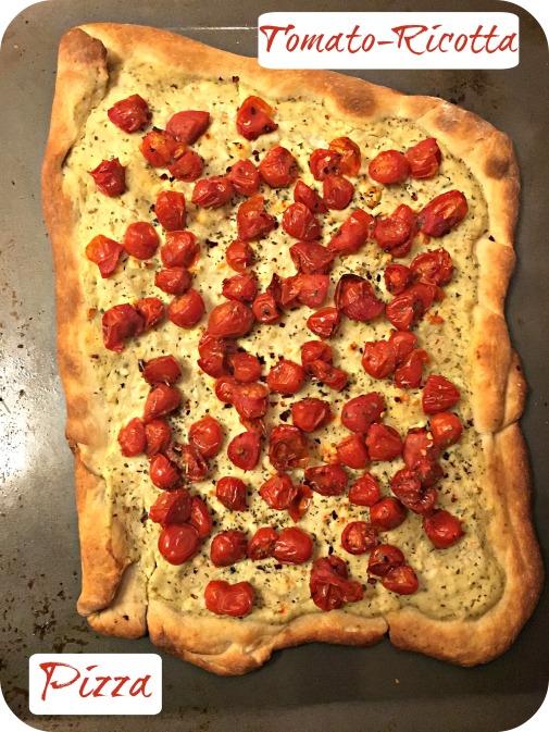 Tomato-Ricotta Pizza