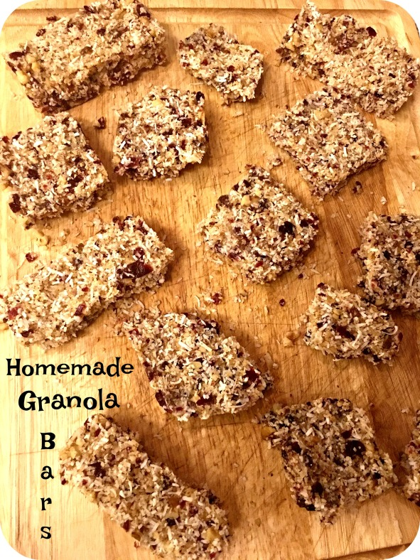 Homemade Granola Bars Whole30