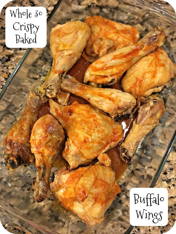 Whole 30 Crispy Baked Buffalo Wings