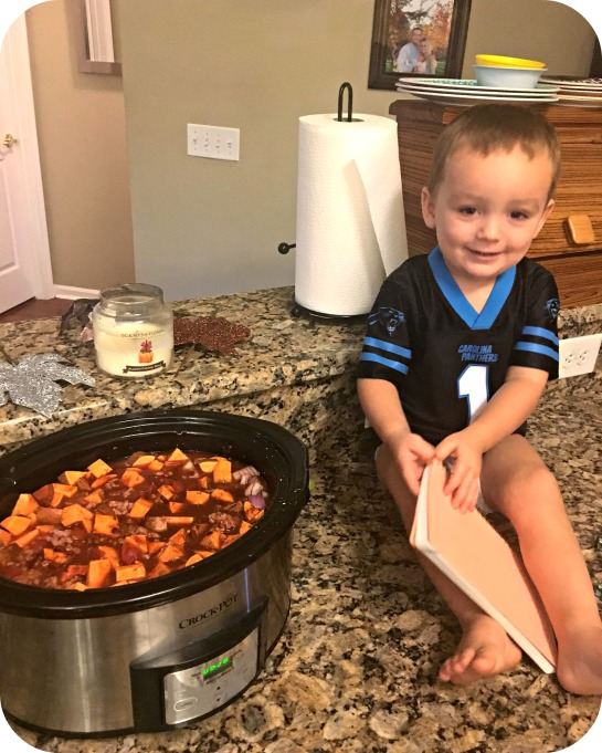 Sweet Potato Chili and Cooper.jpg
